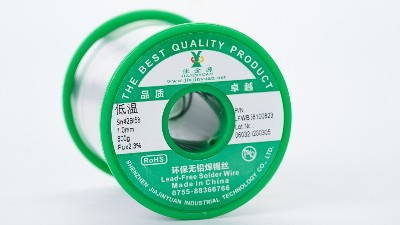 低温环保无铅焊锡丝