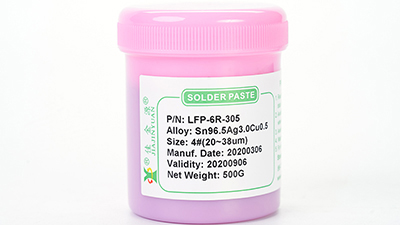 LFP-6R-305红色无铅锡膏