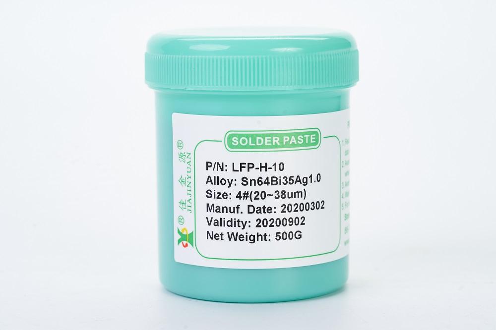 LFP-H-10无铅中温锡膏